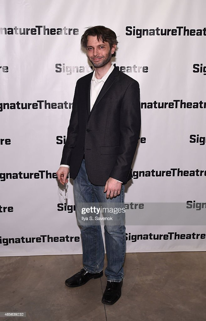 Actor Karl Miller attends 'The Liquid Plane' Opening Night Party at Signature Theatre Company's The Pershing Square Signature Center on March 8, 2015 in New York City.