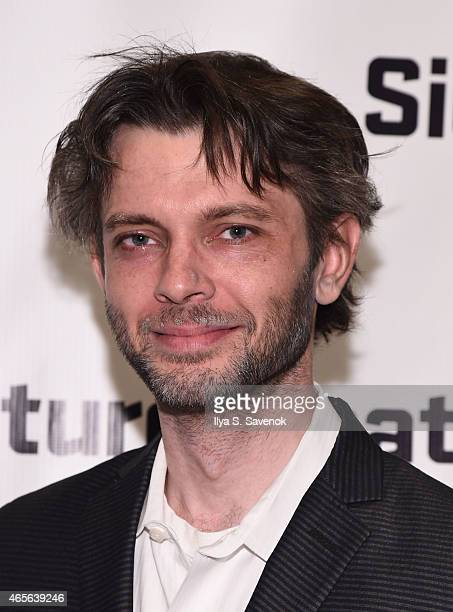 Actor Karl Miller attends 'The Liquid Plane' Opening Night Party at Signature Theatre Company's The Pershing Square Signature Center on March 8 2015...