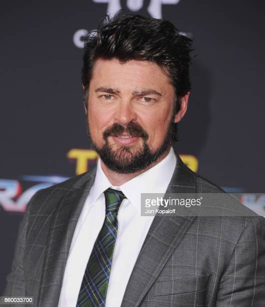Actor Karl Urban arrives at the Los Angeles Premiere 'Thor Ragnarok' on October 10 2017 in Hollywood California