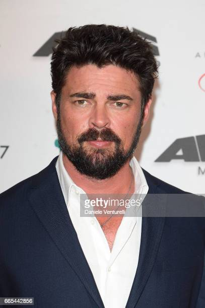 Actor Karl Urban attends AMBI GALA In Honour Of at Hotel Exedra on April 6 2017 in Rome Italy