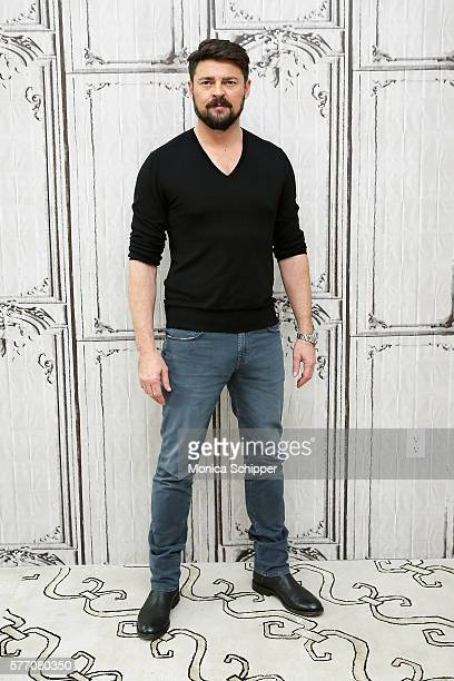 Actor Karl Urban attends AOL Build Speaker Series Karl Urban 'Star Trek Beyond' and 'Pete's Dragon' at AOL HQ on July 18 2016 in New York City