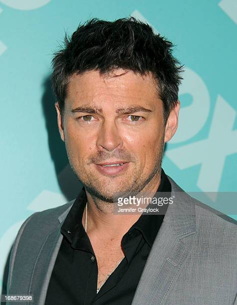 Actor Karl Urban attends the FOX 2103 Programming Presentation PostParty at Wollman Rink in Central Park on May 13 2013 in New York City