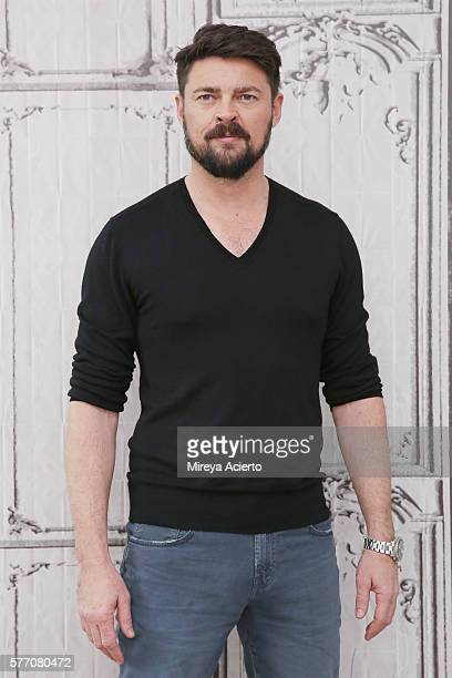 Actor Karl Urban discusses 'Star Trek Beyond' and 'Pete's Dragon' during AOL Build Speaker Series at AOL HQ on July 18 2016 in New York City