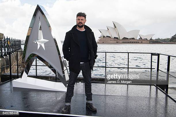 Actor Karl Urban during a photo call for Star Trek Beyond on July 7 2016 in Sydney Australia
