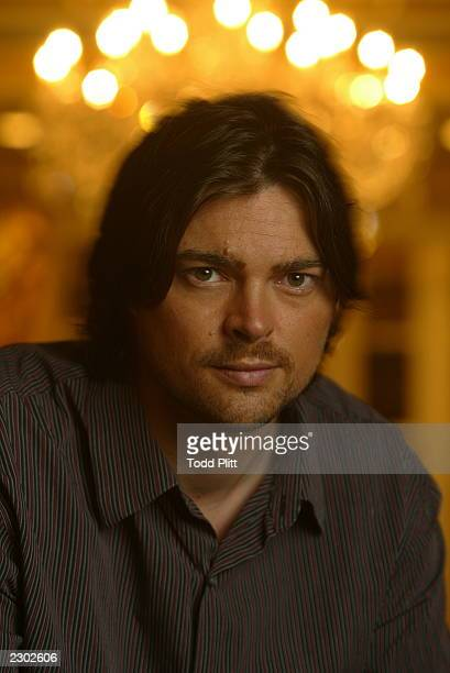 Actor Karl Urban is photographed in New York City on December 2 2002 during a press event for The Lord of The Rings The Two Towers Urban plays the...