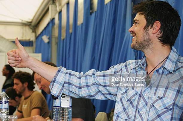 Actor Karl Urban is seen at The Fellowship Festival 2004 aimed at J R R Tolkien fans at Alexandra Palace on August 28 2004 in London The Lord of the...