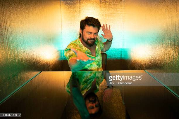 Actor Karl Urban of 'The Boys' are photographed for Los Angeles Times at ComicCon International on July 20 2019 in San Diego California PUBLISHED...