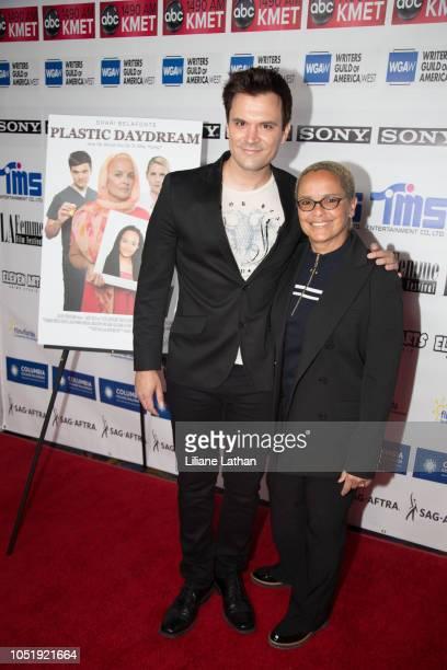 Actor Kash Hovey and Actor Shari Belafonte attend the 2018 LA Femme International Film Festival Plastic Daydream Premiere at Regal Cinemas LA Live on...