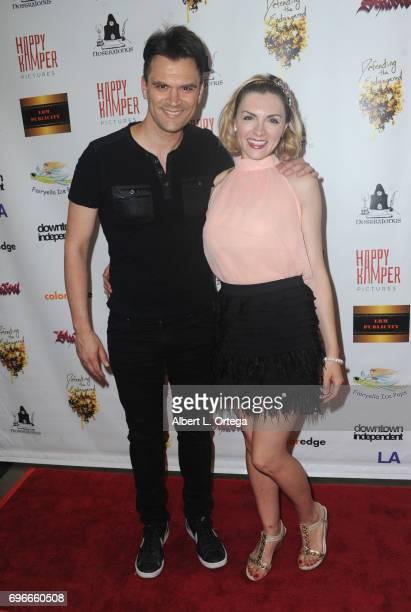Actor Kash Hovey and actress Chantelle Albers arrive for the Premiere Of Front Men And Like Them held at The Downtown Independent on June 15 2017 in...