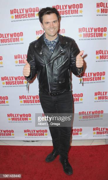 Actor Kash Hovey arrives for the 20th Century Superhero Legends Exhibit Dedicated To Fighting Evil Opening Night Ceremony held at The Hollywood...
