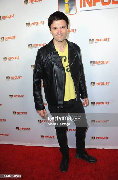 Actor Kash Hovey arrives for the INFOListcom Red Carpet ReLaunch Party And Holiday Extravaganza held at Mondrian Hotel on December 5 2018 in Los...