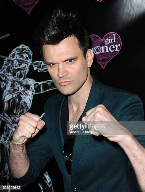 Actor Kash Hovey at the 2nd Annual Artemis Film Festival Red Carpet Opening Night/Awards Presentation held at Ahrya Fine Arts Movie Theater on April...