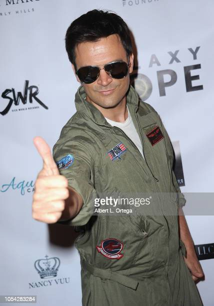 Actor Kash Hovey attends Casazul Tequila Presents The Haunted House Of Bel Air held at a Private Residence on October 26 2018 in Bel Air California