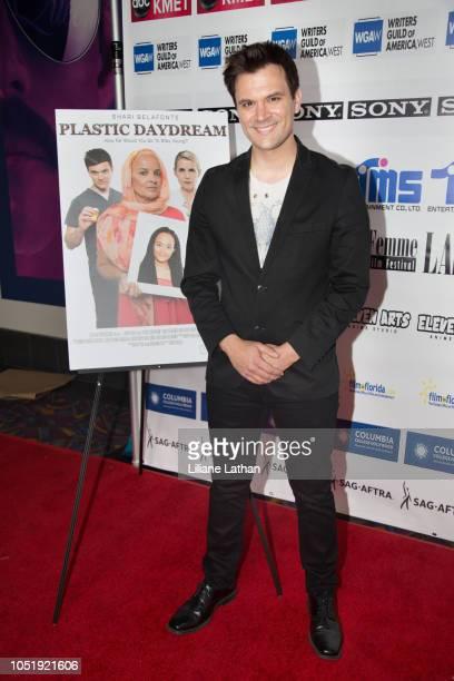 Actor Kash Hovey attends the 2018 LA Femme International Film Festival Plastic Daydream Premiere at Regal Cinemas LA Live on October 11 2018 in Los...