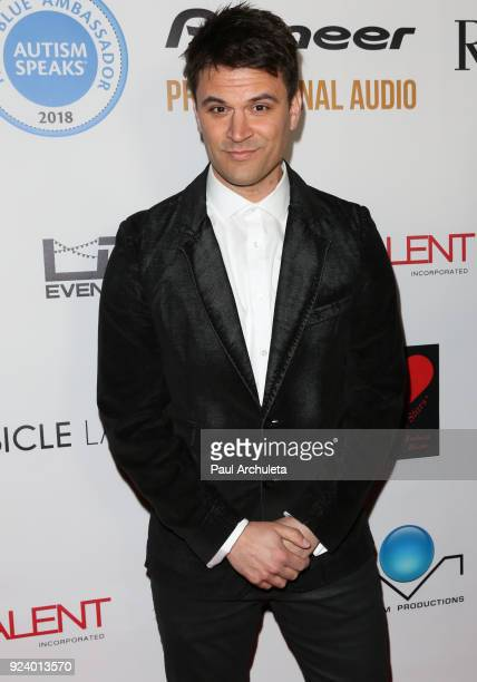 Actor Kash Hovey attends the Gifting Your Spectrum gala benefiting Autism Speaks on February 24 2018 in Hollywood California