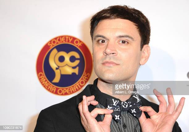 Actor Kash Hovey attends The Society Of Camera Operators 40th Annual Lifetime Achievement Awards held at Loews Hollywood Hotel on January 26 2019 in...