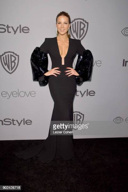 Actor Kate Beckinsale attends 19th Annual PostGolden Globes Party hosted by Warner Bros Pictures and InStyle at The Beverly Hilton Hotel on January 7...