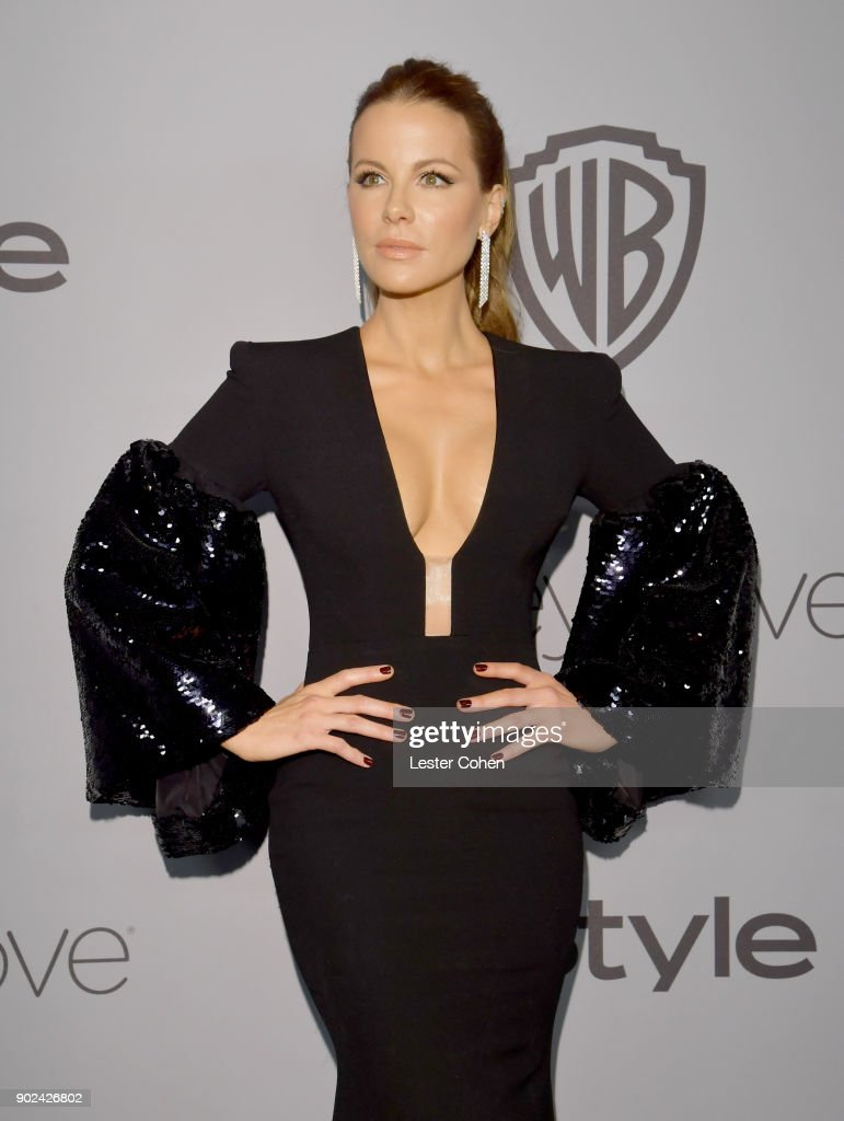 Actor Kate Beckinsale attends 19th Annual Post-Golden Globes Party hosted by Warner Bros. Pictures and InStyle at The Beverly Hilton Hotel on January 7, 2018 in Beverly Hills, California.