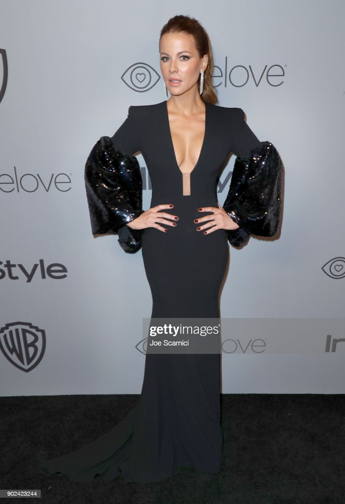 The 2018 InStyle And Warner Bros. 75th Annual Golden Globe Awards Post-Party - Red Carpet