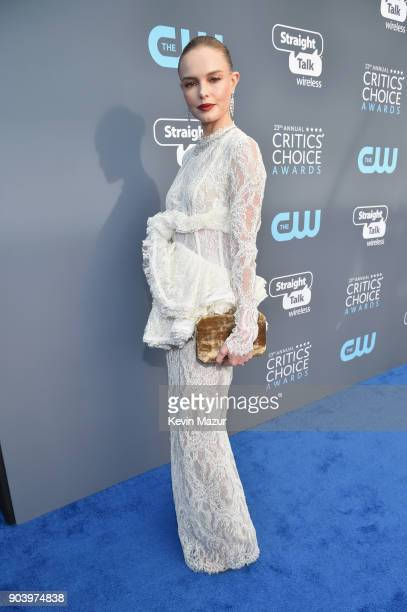 Actor Kate Bosworth attends The 23rd Annual Critics' Choice Awards at Barker Hangar on January 11 2018 in Santa Monica California