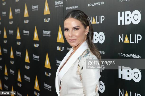 Actor Kate del Castillo attends the NALIP Latino Media Awards at The Ray Dolby Ballroom at Hollywood Highland Center on June 24 2017 in Hollywood...