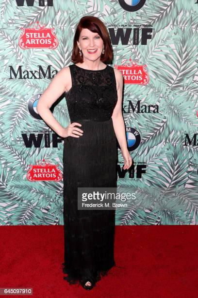 Actor Kate Flannery attends the 10th annual Women in Film PreOscar Cocktail Party at Nightingale Plaza on February 24 2017 in Los Angeles California