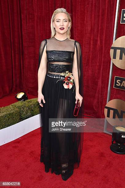 Actor Kate Hudson attends The 23rd Annual Screen Actors Guild Awards at The Shrine Auditorium on January 29 2017 in Los Angeles California