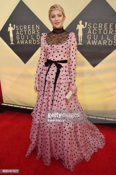 Actor Kate Hudson attends the 24th Annual Screen Actors Guild Awards at The Shrine Auditorium on January 21 2018 in Los Angeles California 27522_007