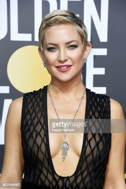 Actor Kate Hudson attends The 75th Annual Golden Globe Awards at The Beverly Hilton Hotel on January 7, 2018 in Beverly Hills, California.