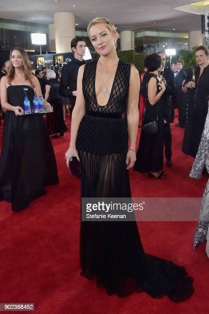 Actor Kate Hudson attends The 75th Annual Golden Globe Awards at The Beverly Hilton Hotel on January 7 2018 in Beverly Hills California