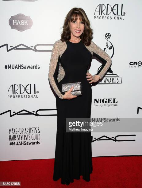 Actor Kate Linder attends the 2017 MakeUp Artists and Hair Stylists Guild Awards at The Novo by Microsoft on February 19 2017 in Los Angeles...