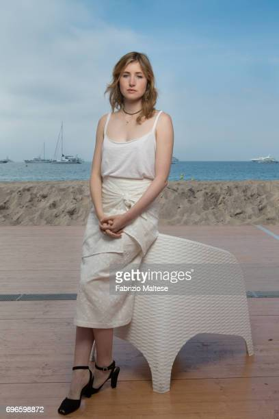 Actor Kate Lyn Sheil is photographed for the Hollywood Reporter on May 25 2017 in Cannes France