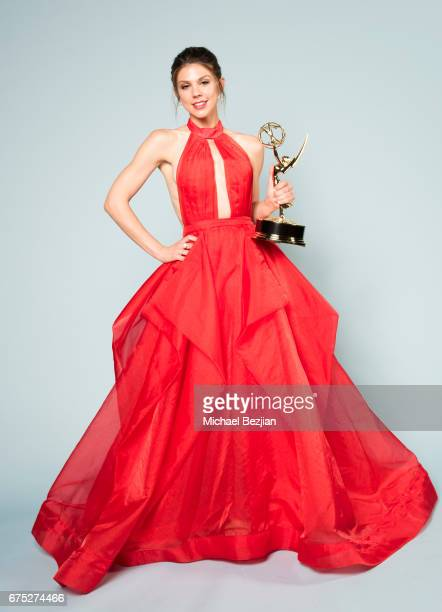 Actor Kate Mansi wins an Emmy for Outstanding Supporting Actress in a Drama Series for 'Days of Our Lives' at The 44th Daytime Emmy Awards Portraits...
