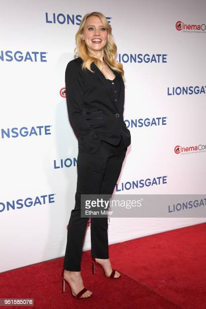 Actor Kate McKinnon attends CinemaCon 2018 Lionsgate Invites You to An Exclusive Presentation Highlighting Its 2018 Summer and Beyond at The...