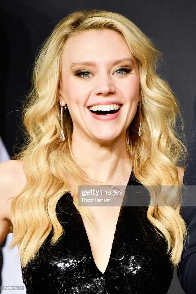 Actor Kate McKinnon poses in the press room during the 89th Annual Academy Awards at Hollywood & Highland Center on February 26, 2017 in Hollywood, California.