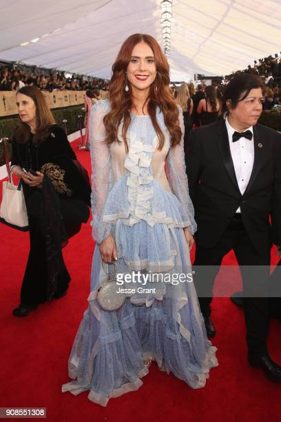 Actor Kate Nash attends the 24th Annual Screen Actors Guild Awards at The Shrine Auditorium on January 21 2018 in Los Angeles California
