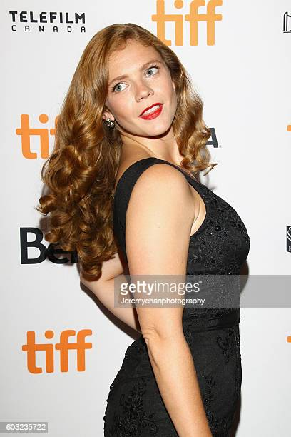 Actor Kate Ross attends the 'Maudie' premiere held at The Elgin Theatre during the Toronto International Film Festival on September 12 2016 in...