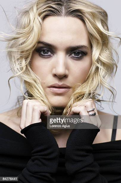 Actor Kate Winslet poses for a portrait shoot for the Telegraph magazine in New York on November 10 2008