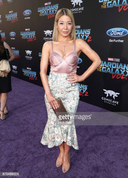 """Actor Katherine Castro at The World Premiere of Marvel Studios' """"Guardians of the Galaxy Vol 2"""" at Dolby Theatre in Hollywood CA April 19th 2017"""