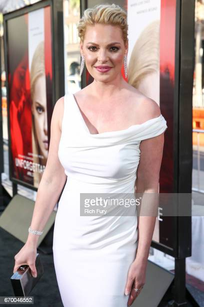 Actor Katherine Heigl attends the premiere of Warner Bros Pictures' Unforgettable at TCL Chinese Theatre on April 18 2017 in Hollywood California