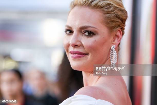 "Actor Katherine Heigl attends the premiere of Warner Bros. Pictures' ""Unforgettable"" at TCL Chinese Theatre on April 18, 2017 in Hollywood,..."
