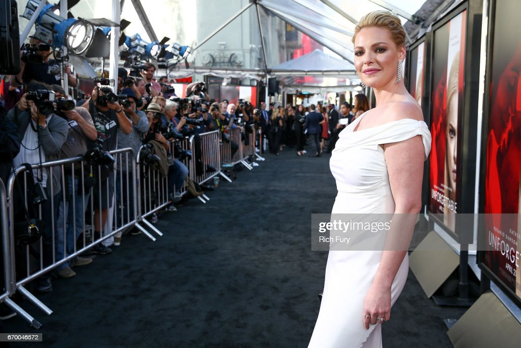 Actor Katherine Heigl attends the premiere of Warner Bros. Pictures' 'Unforgettable' at TCL Chinese Theatre on April 18, 2017 in Hollywood, California.