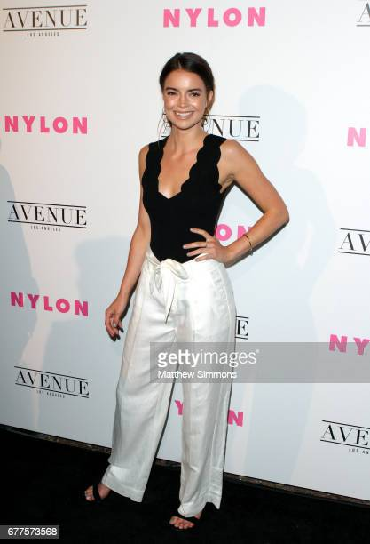 Actor Katherine Hughes attends NYLON's Annual Young Hollywood May Issue Event at Avenue on May 2 2017 in Los Angeles California