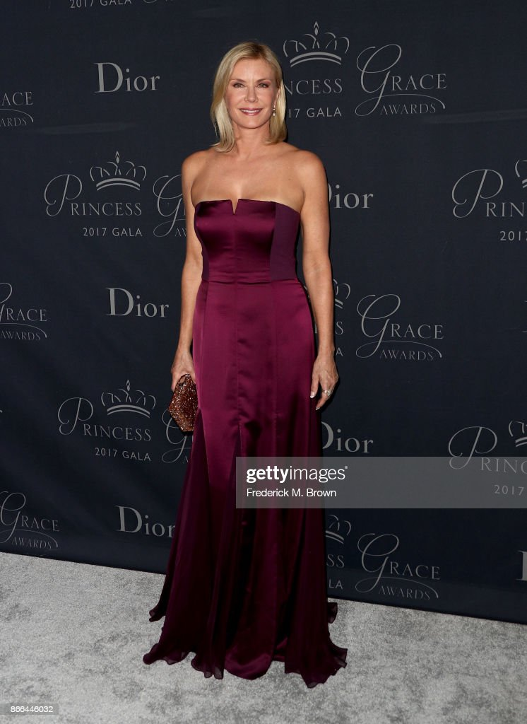 Actor Katherine Kelly Lang attends 2017 Princess Grace Awards Gala at The Beverly Hilton Hotel on October 25, 2017 in Beverly Hills, California.