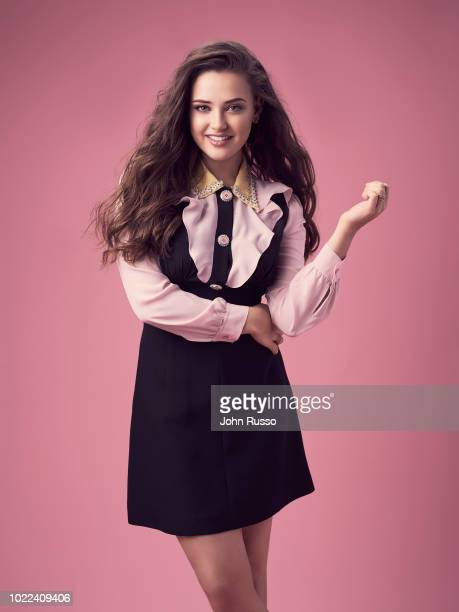 Actor Katherine Langford is photographed for 20th Century Fox on January 9 2018 in Los Angeles California