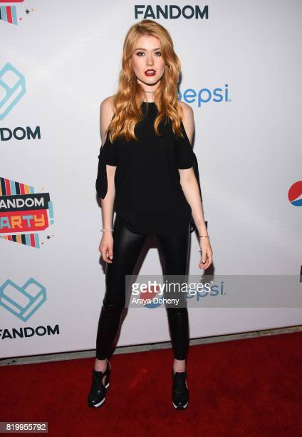 Actor Katherine McNamara at the FANDOM Party during ComicCon International 2017 at Hard Rock Hotel San Diego on July 20 2017 in San Diego California