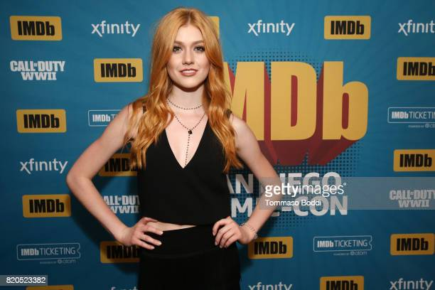 Actor Katherine McNamara attends the #IMDboat Party at San Diego ComicCon 2017 Presented By XFINITY on The IMDb Yacht on July 21 2017 in San Diego...