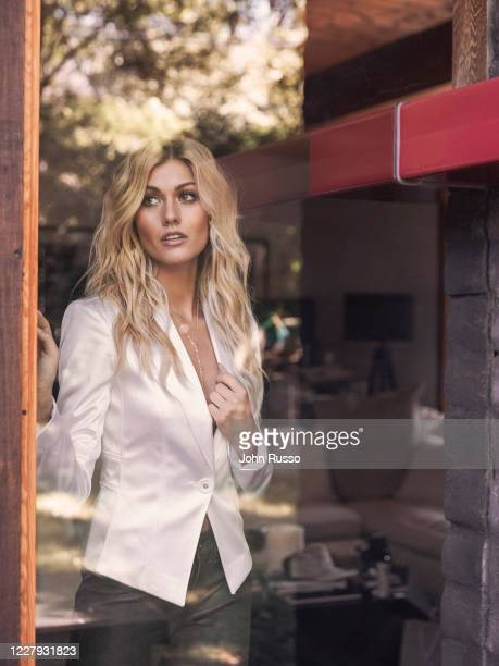 Actor Katherine McNamara is photographed for Gio Journal on July 18 2020 in Los Angeles California
