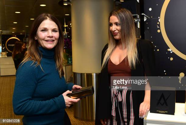 Actor Kathryn Erbe attends the GRAMMY Gift Lounge during the 60th Annual GRAMMY Awards at Madison Square Garden on January 25 2018 in New York City