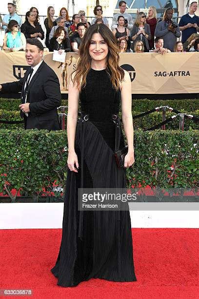 Actor Kathryn Hahn attends The 23rd Annual Screen Actors Guild Awards at The Shrine Auditorium on January 29 2017 in Los Angeles California 26592_008